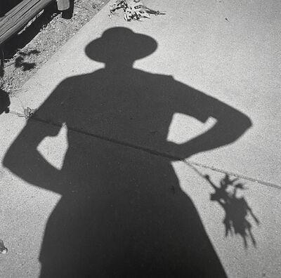 Vivian Maier, 'Self-portrait', 1956