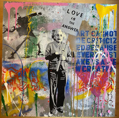 Mr. Brainwash, 'Einstein Quadrant', 2020