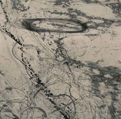 Emmet Gowin, 'Off Road Traffic Pattern along the Northwest Shore of the Great Salt Lake, Utah', 1988