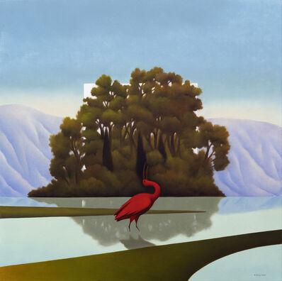 Cesare Reggiani, 'L'isola velata', 2020