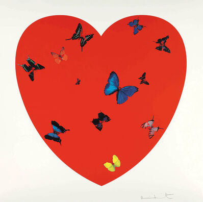 Damien Hirst, 'All You Need Is Love, Love, Love', 2008