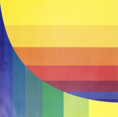 Herbert Bayer, 'Rainbow Abstraction', ca. 1975