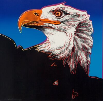 Andy Warhol, 'Bald Eagle, from Endangered Species', 1983