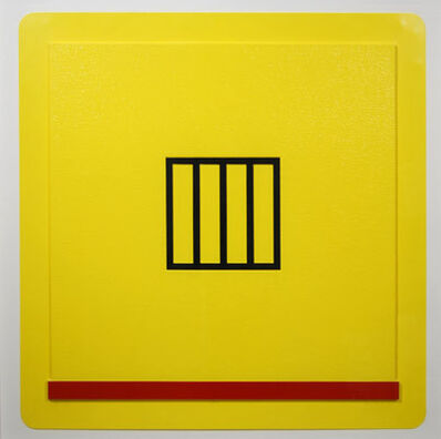 Peter Halley, 'Prison', 1987