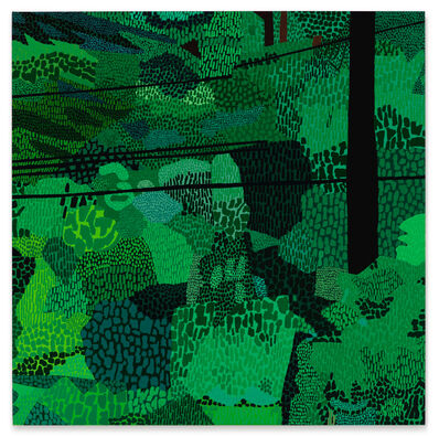 Jonas Wood, 'Green Pattern', 2014