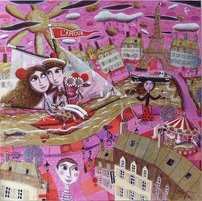 Christian Pendelio, 'Love Ballad in A Pink Paris ', 2016