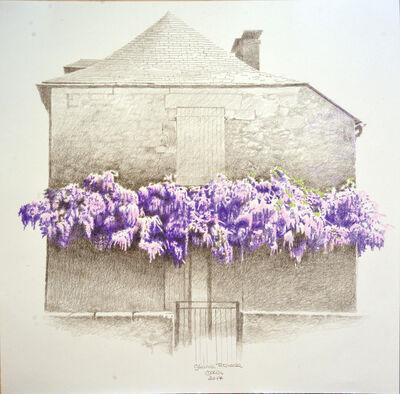 Óscar Tusquets Blanca, 'Glicinia francesa II', 2017