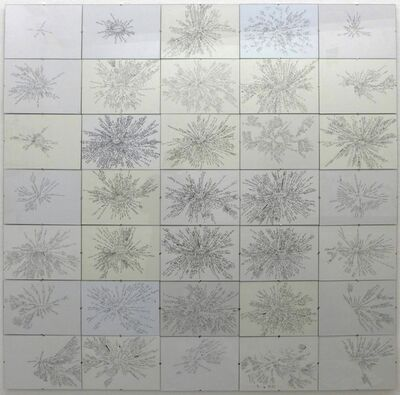Lia Perjovschi, '35 Mind Maps', 1999-2007