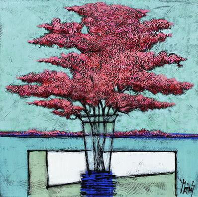 Moiras Jean, 'Buisson rose', 2020