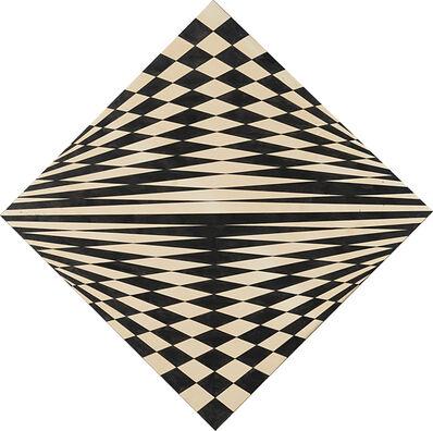 Dadamaino, 'Disegno ottico-dinamico-indeterminato progr. 5', 1964-1965