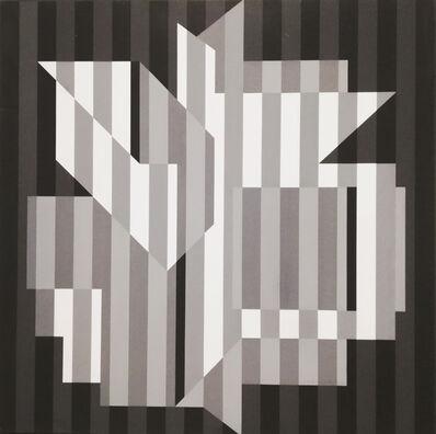 Victor Vasarely, 'Ujain-Gris', 1955-73