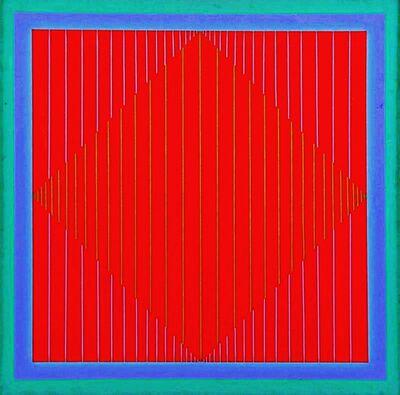 Richard Anuszkiewicz, 'Metallic Water', 1964