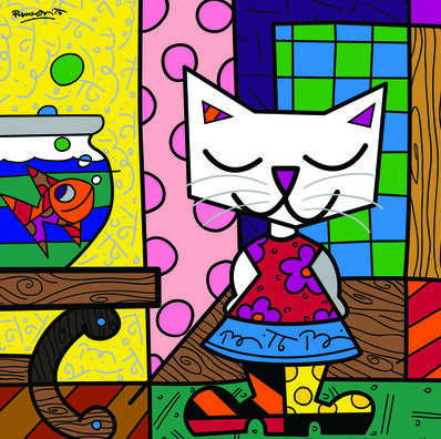Romero Britto, '  Good Friends'