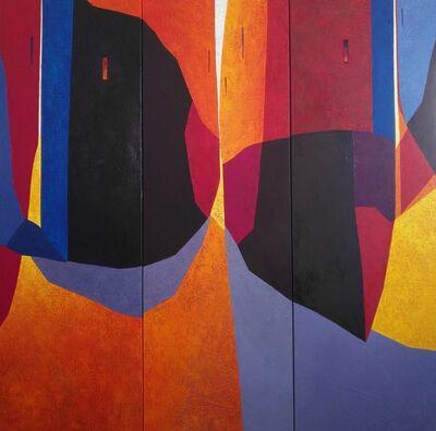 Tomàs Sunyol, 'Night Bars (triptych)', 2020