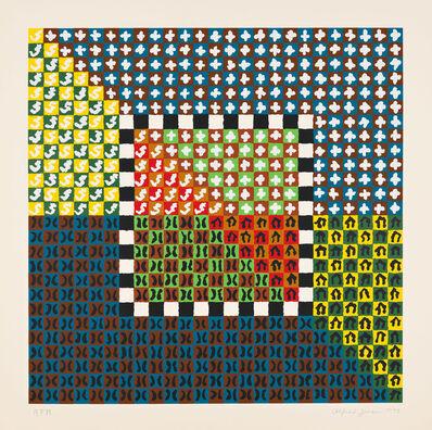 Alfred Jensen, 'Portfolio (Solar Years of 360 Days) (#1)', 1973