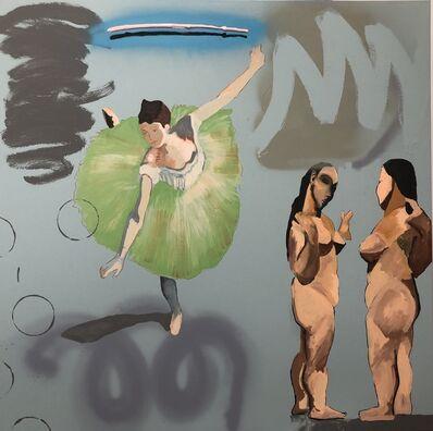 Frank Buffalo Hyde, 'Epochs -Art History # 2', 2019