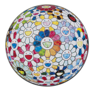 Takashi Murakami, 'Scenery With A Rainbow In The Midst', 2014