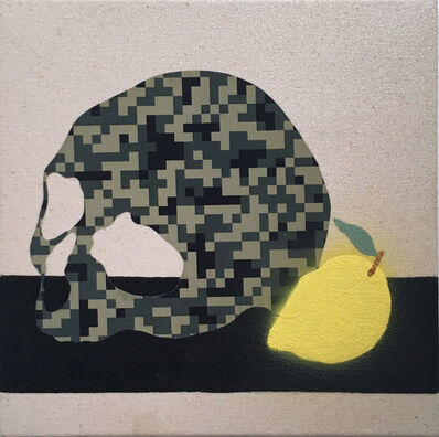 Stephen D'Onofrio, 'Still Life with Skull and Lemon', 2018