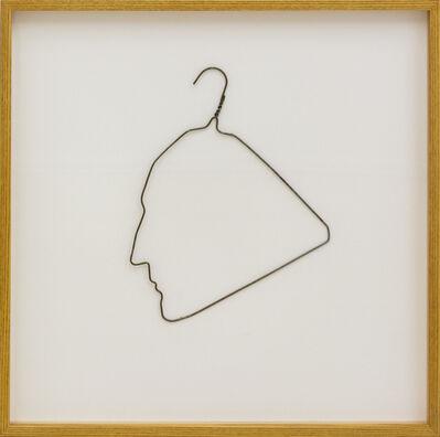 Ai Weiwei, 'Profile of Marcel Duchamp', 1985