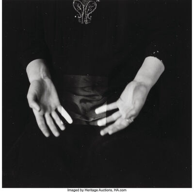 Francesca Woodman, 'Untitled (Hands)', circa 1979