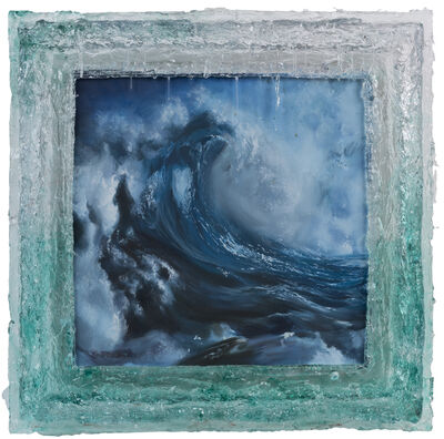 Zhengyuan Lu, 'Roaring Wave No. 8', 2017