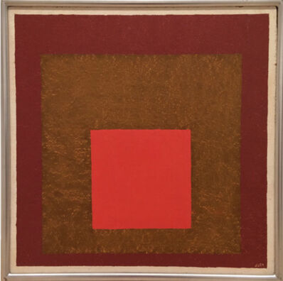 Josef Albers, 'Study for Homage to the Square: Signal', 1954