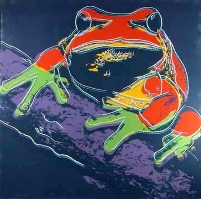 Andy Warhol, 'Pine Barrens Tree Frog (F&S.II.294)', 1983