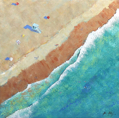Kathleen Keifer, 'Over The Beach', 2020
