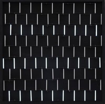François Morellet, 'Néon éclairage avec 3 rythmes superposés', 1964