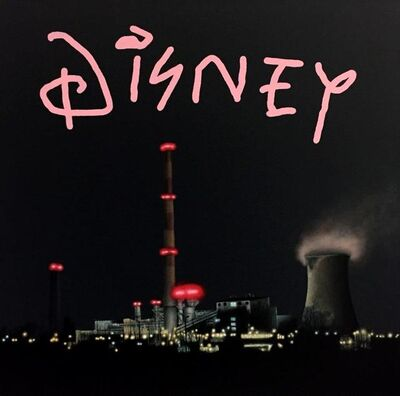 "Alejandro Monge, '""BLACK SERIES: DISNEY""', 2019"
