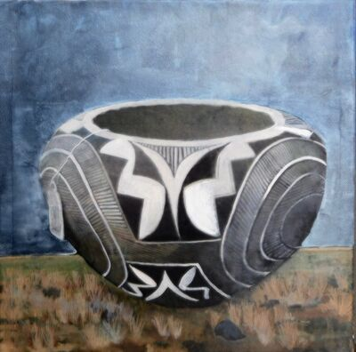 Christina Penrose, '#1 acoma pottery/#1 american indian series', 2018
