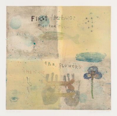 Squeak Carnwath, 'First the Bugs', 1995