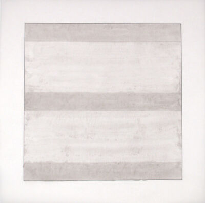 Agnes Martin, 'Untitled II', 1991