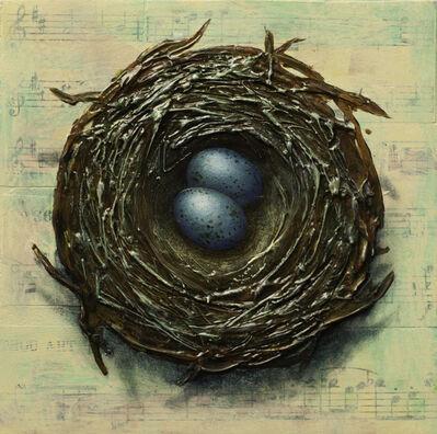 Thane Gorek, 'Nest with Two Eggs', 2019