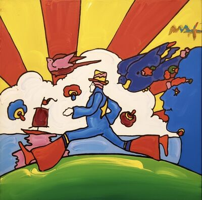 Peter Max, 'Cosmic Runner ', 2011