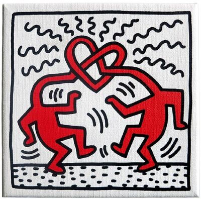 Keith Haring, 'Untitled (Love)', 1989