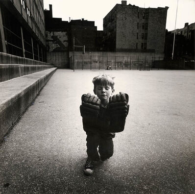 Arthur Tress, 'Boy with Hockey Gloves', 1968/1968c