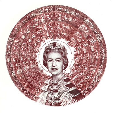 Carlos Aires, 'Gastric Icon III, Queen of England', 2020