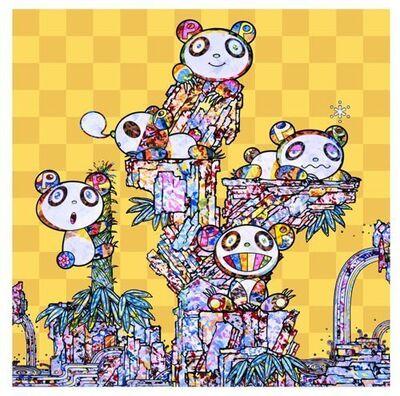 Takashi Murakami, 'PANDAS PANDA CUBS PANDAS', 2019