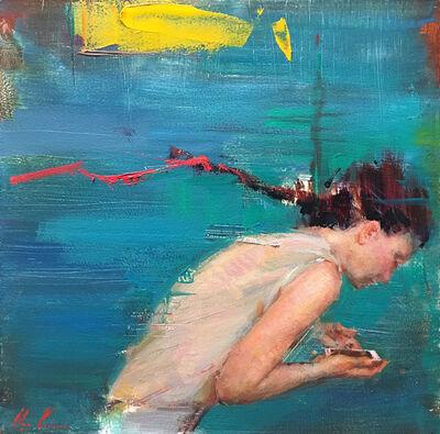 Olga Krimon, 'Texting', 2019
