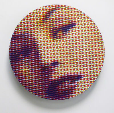 Chris Cran, 'Tricolour Tondo', 2014