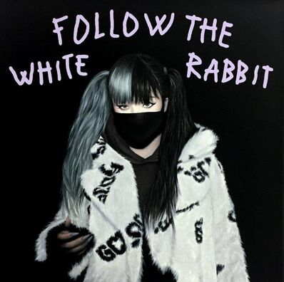 "Alejandro Monge, '""BLACK SERIES: FOLLOW THE WHITE RABBIT""', 2019"
