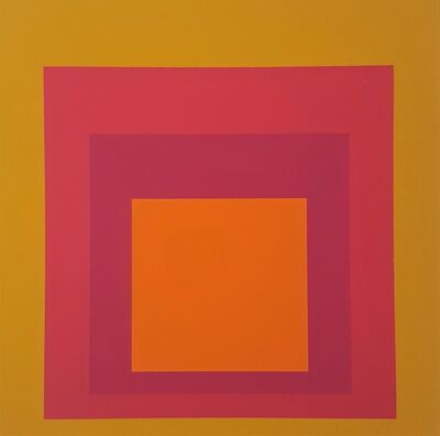 "Josef Albers, 'Homage to the Square: La Tehuana (from ""Albers"")', 1971"