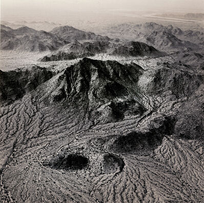 Emmet Gowin, 'Natural Drainage Systems Near The Palo Verde Nuclear Power Station, Arizona', 1988