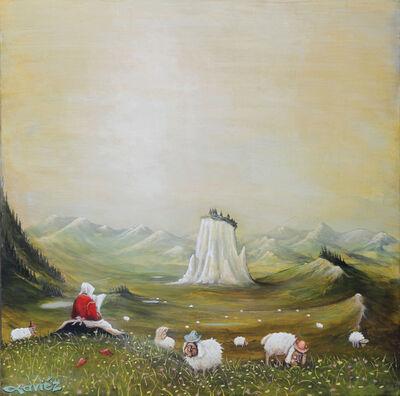 Xaviéz, 'shepherdess', 2016