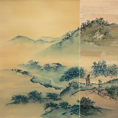 He Sen, 'Fog in Countryside', 2015