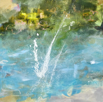 Kathy Buist, 'Splash with Rhododendrons', 2020