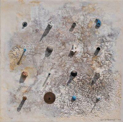 Alexander Berdysheff, 'White Square Relief', 2019