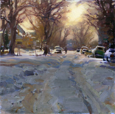 Kim English, 'Capitol Hill Snow', 2021
