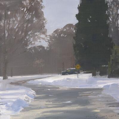 Marilyn Turtz, 'Cars in Snowy Driveway'